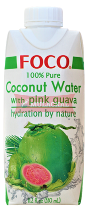 Picture of FOCO Coconut Water with Guava 12x330ml